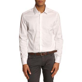 chemise blanche armani