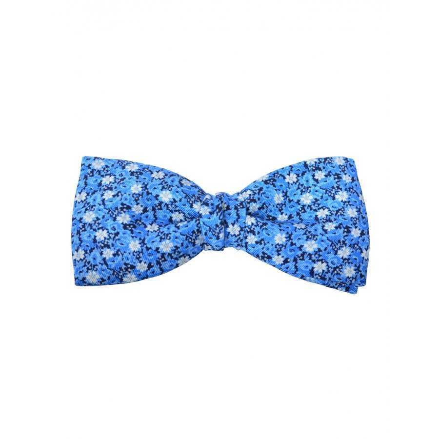 vente à bas prix dernier style trouver le prix le plus bas Noeud papillon bleu à fleurs Atelier F&B