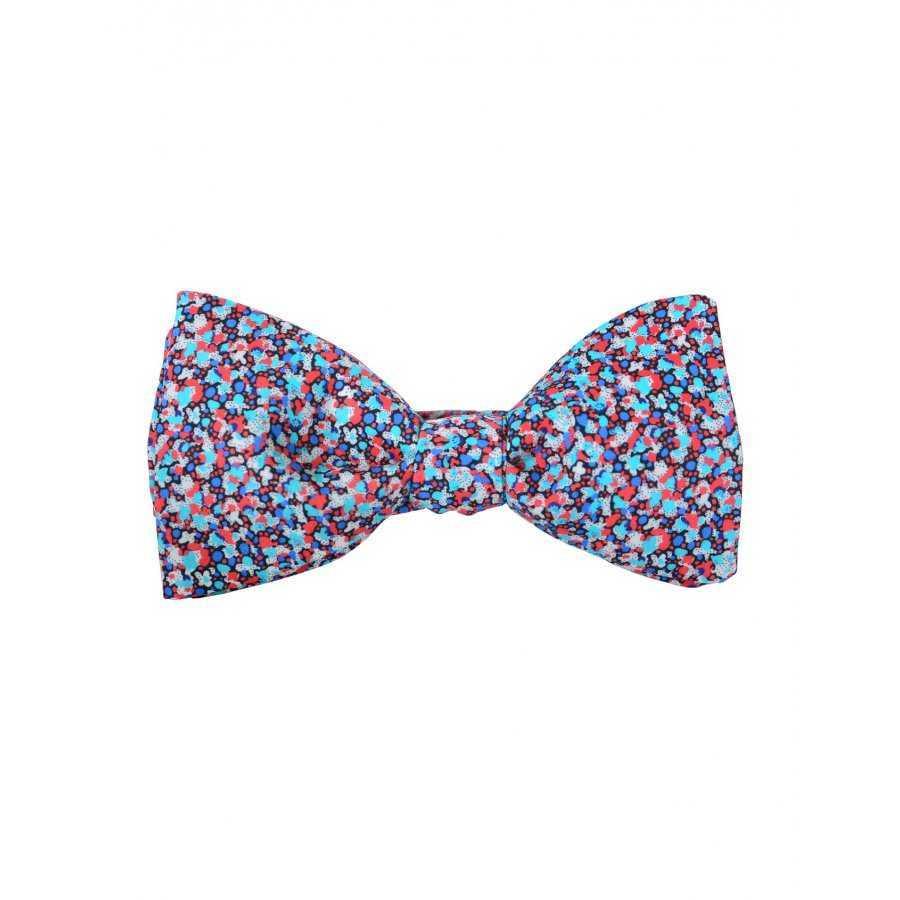 151b12977f0a7 Noeud papillon Atelier F&B pour homme multicolore en coton avec attache  agrafe