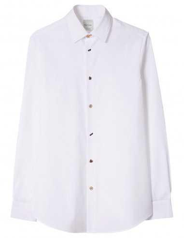 Paul Smith MIB - Chemise blanche boutons dépareillés
