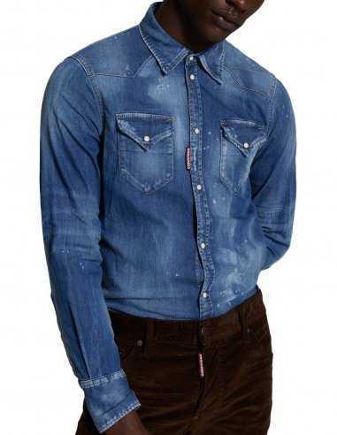 Dsquared2 - Chemise en jean