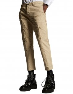 """Dsquared2 - Chino beige """"Hockney Pants"""""""