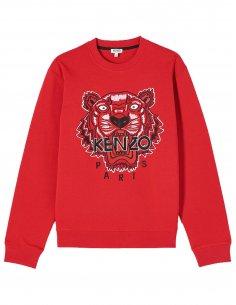 Kenzo - Sweat Tigre rouge