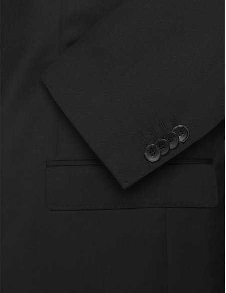 Boss - Veste Extra slim fit noire