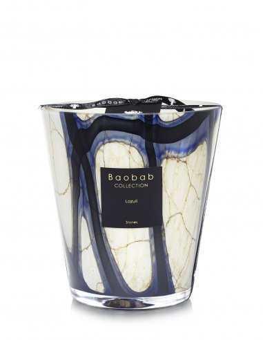 "Baobab Collection - Bougie ""Stones Lazuli"" Max16"