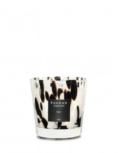 """Baobab Collection - Bougie """"Pearls Black"""" Max One"""