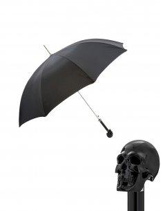 Pasotti - Parapluie Tête de mort noire
