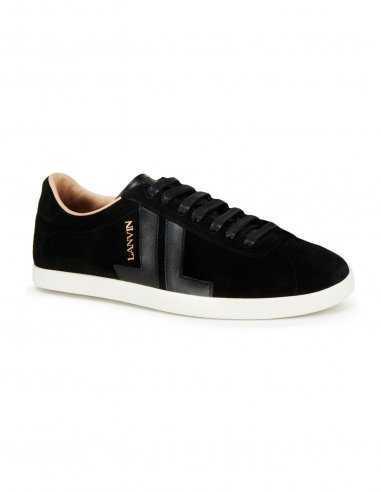 baskets-noires-noir-lanvin-lanvinparis-homme-sneakers-cuir-suede-nubuck-daim-homme-toulouse-paris-lyon-marseille-bordeaux-biarri