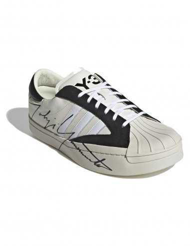 Y-3 Adidas - Baskets Yohji Star Blanches