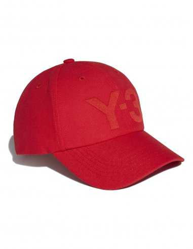Adidas Y-3 - Casquette Logo Y-3 Rouge