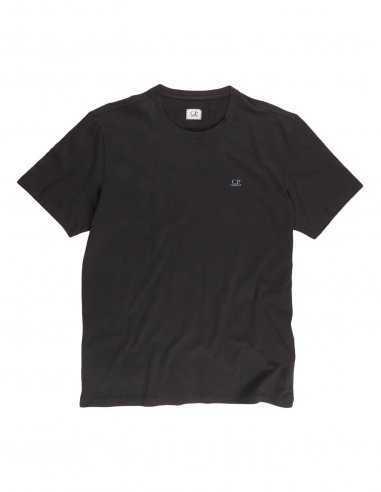 CP Company - T-shirt Noir à imprimé Goggle