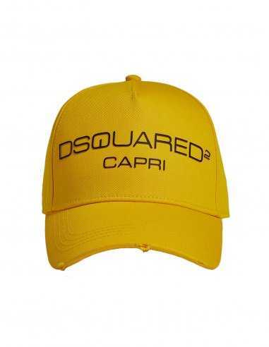 Dsquared2 - Casquette Jaune Logo