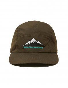 White Mountaineering - Casquette Kaki logo brodé