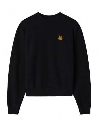 "Kenzo - Sweatshirt Noir Logo ""Tiger Crest"""