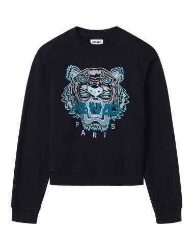 Kenzo - Sweatshirt Noir broderie Tigre