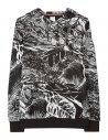 Paul Smith - Sweatshirt à capuche en jacquard 'Chile'