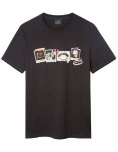 "Paul Smith - T-shirt Noir ""Sasquatch"""