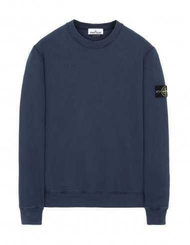 Stone Island - Sweat-Shirt Bleu Marine