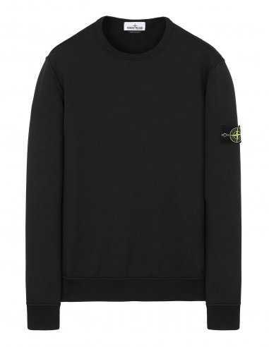 Stone Island - Sweat-shirt à col rond Noir