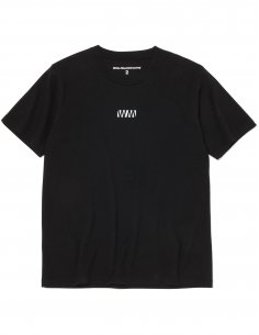 "White Mountaineering - T-shirt Noir imprimé ""WV"""
