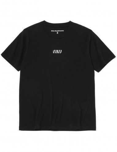 "White Mountaineering - T-shirt Noir imprimé ""WV"""