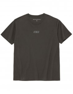 "White Mountaineering - T-shirt Charbon imprimé ""WV"""