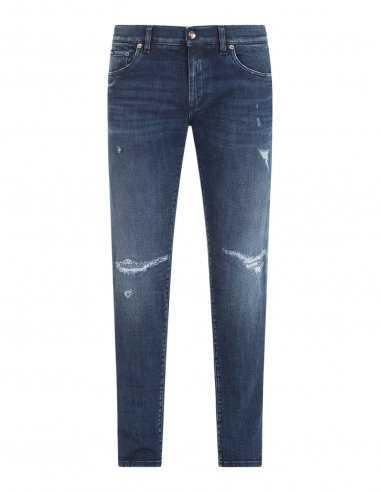 Dolce & Gabbana - Jean Skinny stretch bleu