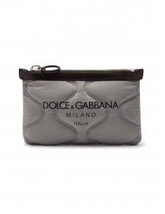 Dolce & Gabbana - Sac banane plat en nylon avec Logo