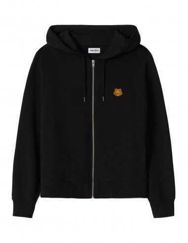 Kenzo - Sweatshirt à capuche Tiger Crest Noir