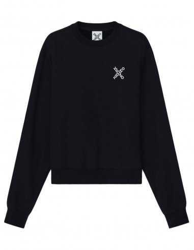 Kenzo - Sweatshirt 'Little X' Noir