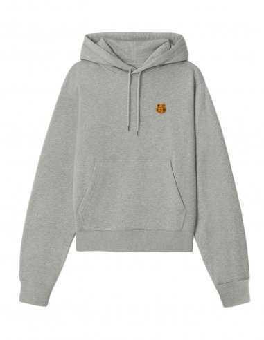 Kenzo - Sweatshirt à capuche Tiger Crest Gris
