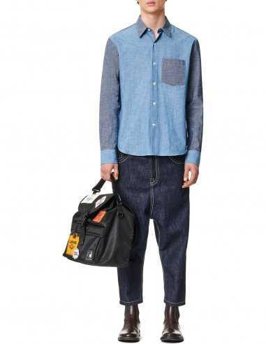 Lanvin - Chemise casual avec plastron Bleue