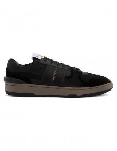 Lanvin - Sneakers basses en cuir noir