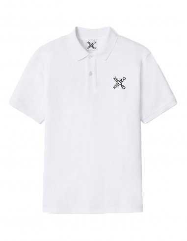 Kenzo - Polo 'Little X' Blanc