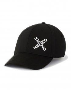 Kenzo - Casquette Noire 'Little X'