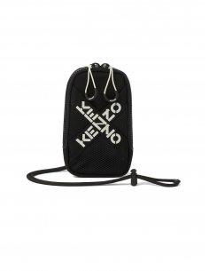 Kenzo - Porte téléphone Noir à bandoulière