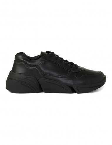 Kenzo - Baskets Kross en cuir Noir