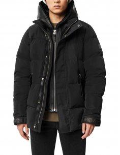 Mackage - Manteau en duvet  avec plastron amovible Noir