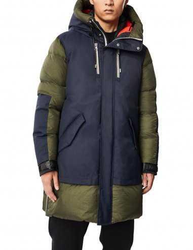 Mackage - Manteau en duvet avec capuche Kaki