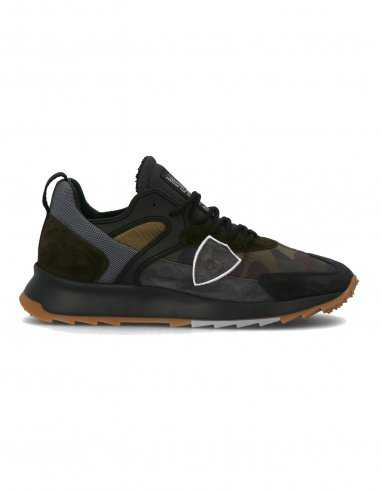 """Philippe Model - Sneakers """"Royal camouflage"""" Militaire"""