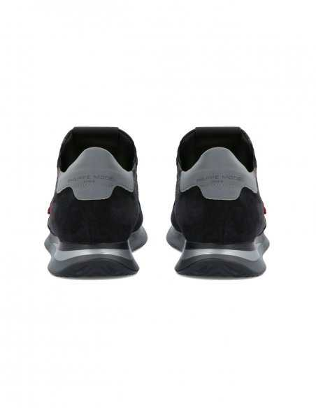 """Philippe Model - Sneakers TRPX """"Camouflage"""" Noires"""