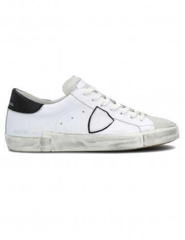 Philippe Model - Sneakers Basiques Blanches et Noires