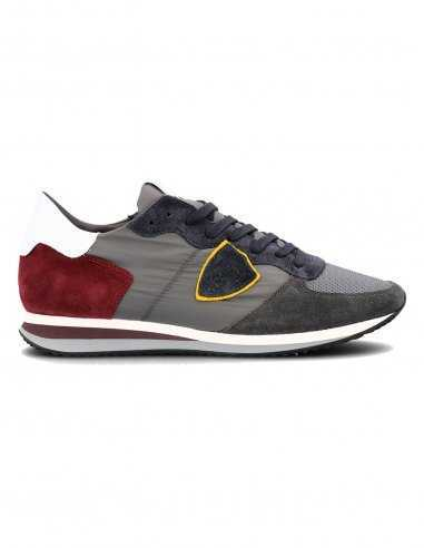 """Philippe Model - Sneakers TRPX """"Mondial"""" Anthracite"""