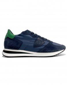Philippe Model - Sneakers TRPX Bleu Vert