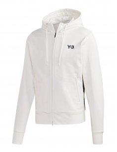 Y-3 Adidas - Veste à Capuche Blanche