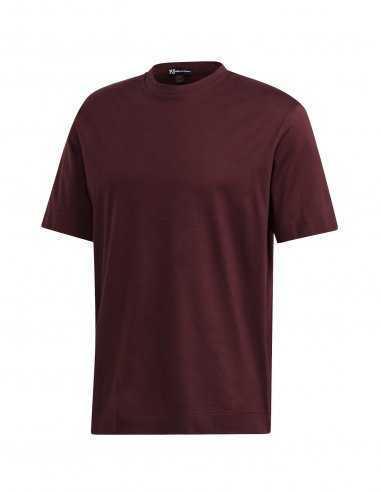 Y-3 Adidas - T-shirt Logo Y-3 Bordeaux
