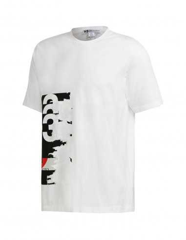 Y-3 Adidas - T-shirt Graphic Blanc