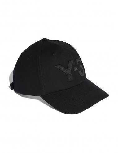 Adidas Y-3 - Casquette Logo Y-3 Noire