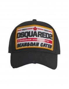 Dsquared2 - Casquette Noire Logo Canada
