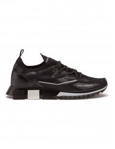 Dolce & Gabbana - Sneakers en Fine Maille Noires